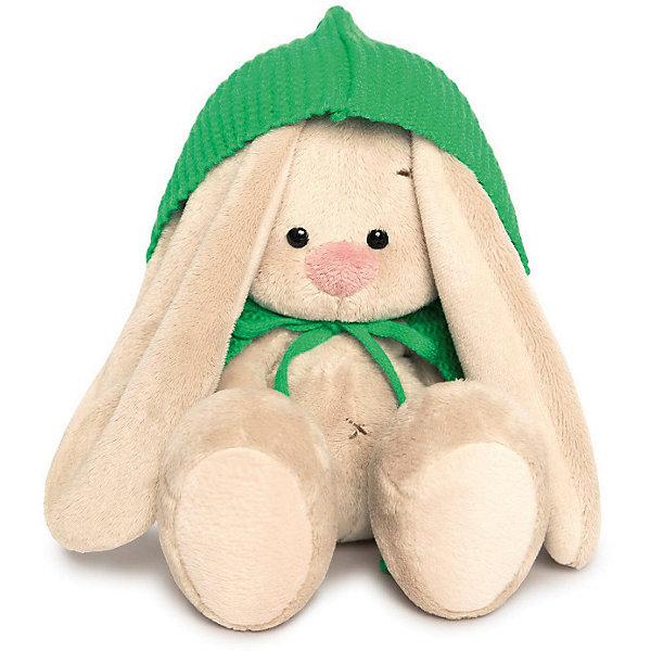 Мягкая игрушка Budi Basa Зайка Ми в зеленом пончо, 15 смМягкие игрушки зайцы и кролики<br>Характеристики товара:<br><br>• возраст: от 3 лет;<br>• материал: текстиль, искусственный мех;<br>• высота игрушки: 15 см;<br>• размер упаковки: 15х14х15 см;<br>• вес упаковки: 270 гр.;<br>• страна производитель: Россия.<br><br>Мягкая игрушка «Зайка Ми  в зеленом пончо» Budi Basa — очаровательный пушистый зайчонок с длинными ушками. На зайке пончо зеленого цвета. Игрушка выполнена из качественного безопасного материала, настолько приятного и мягкого, что ребенок будет брать с собой зайку в кроватку и спать в обнимку.<br><br>Мягкую игрушку «Зайка Ми в зеленом пончо» Budi Basa можно приобрести в нашем интернет-магазине.<br>Ширина мм: 135; Глубина мм: 135; Высота мм: 130; Вес г: 250; Цвет: бежевый; Возраст от месяцев: 36; Возраст до месяцев: 168; Пол: Унисекс; Возраст: Детский; SKU: 7771067;
