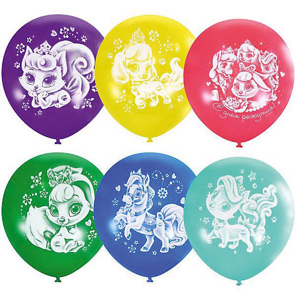 Купить Воздушные шары Latex Occidental Дисней. Пушистые истории. С днём рождения 25 шт., пастель + декоратор, Мексика, Женский
