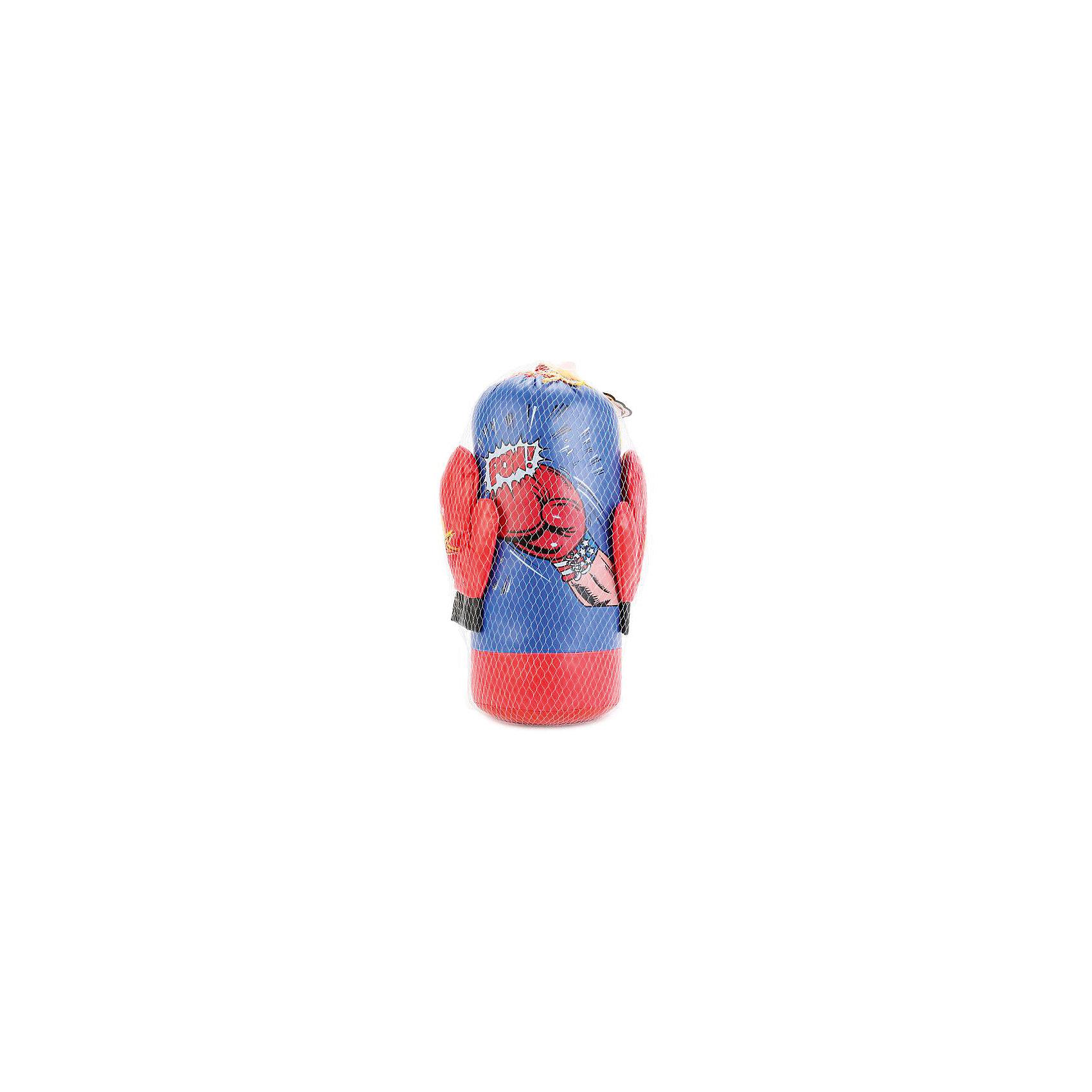 Набор для бокса Играем вместе (груша+перчатки) от myToys