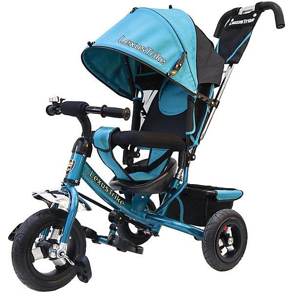 Купить Трехколесный велосипед Lexus Trike с надувными шинами 10 и 8 , Китай, голубой, Унисекс