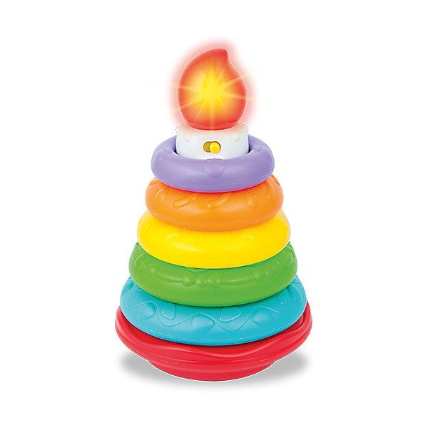 Сортировщик WinFun «Сладкий торт»Развивающие игрушки<br>Характеристики товара:<br><br>• возраст: от 6 месяцев;<br>• материал: пластик;<br>• тип батареек: 2 батарейки ААА;<br>• наличие батареек: в комплекте;<br>• размер упаковки: 22х15х15 см;<br>• вес упаковки: 403 гр.;<br>• страна бренда: Китай.<br><br>Сортировщик WinFun «Сладкий торт» - развивающая игрушка в виде пирамидки. Кольца пирамидки имеют разную текстуру, что способствует развитию тактильных ощущений. Благодаря им малыш сможет выучить разные цвета. Игрушка оснащена световыми и звуковыми эффектами.<br><br>Сортировщик WinFun «Сладкий торт» можно приобрести в нашем интернет-магазине.<br>Ширина мм: 150; Глубина мм: 150; Высота мм: 220; Вес г: 403; Возраст от месяцев: 6; Возраст до месяцев: 2147483647; Пол: Унисекс; Возраст: Детский; SKU: 7771963;