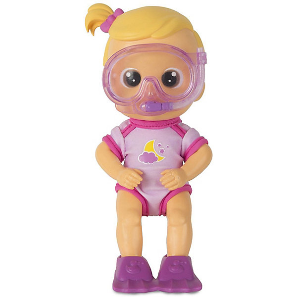 Кукла для купания IMC Toys ЛунаИгрушки для ванной<br>Характеристики товара:<br><br>• возраст: от 3 лет;<br>• материал: пластик;<br>• в комплекте: кукла, аксессуары;<br>• размер упаковки: 25,5х16х9,5 см;<br>• вес упаковки: 500 гр.<br><br>Кукла для купания IMC Toys Луна сделает процесс купания в ванной веселым и увлекательным. Если нажать куколке на живот, то она выпустит струйку воды из ротика. В комплекте для куклы маска для плавания. Когда на ней надета маска, то она выпускает струйку воды из трубочки. Кукла умеет даже выпускать настоящие пузырьки.<br><br>Куклу для купания IMC Toys Луна можно приобрести в нашем интернет-магазине.<br>Ширина мм: 255; Глубина мм: 160; Высота мм: 95; Вес г: 500; Цвет: фиолетовый; Возраст от месяцев: 18; Возраст до месяцев: 36; Пол: Женский; Возраст: Детский; SKU: 7771991;