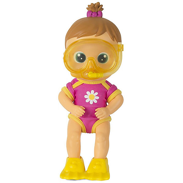 Кукла для купания IMC Toys ФлоуиКуклы<br>Характеристики товара:<br><br>• возраст: от 3 лет;<br>• материал: пластик;<br>• в комплекте: кукла, аксессуары;<br>• размер упаковки: 25,5х16х9,5 см;<br>• вес упаковки: 500 гр.<br><br>Кукла для купания IMC Toys Флоуи сделает процесс купания в ванной веселым и увлекательным. Если нажать куколке на живот, то она выпустит струйку воды из ротика. В комплекте для куклы маска для плавания. Когда на ней надета маска, то она выпускает струйку воды из трубочки. Кукла умеет даже выпускать настоящие пузырьки.<br><br>Куклу для купания IMC Toys Флоуи можно приобрести в нашем интернет-магазине.<br>Ширина мм: 255; Глубина мм: 160; Высота мм: 95; Вес г: 500; Цвет: розовый; Возраст от месяцев: 18; Возраст до месяцев: 36; Пол: Женский; Возраст: Детский; SKU: 7772001;