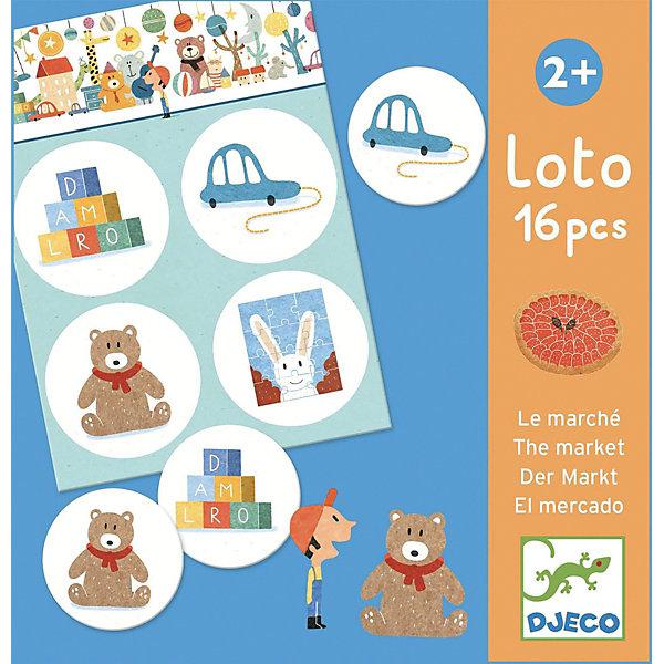 Лото Djeco МагазинЛото<br>Характеристики товара:<br><br>• возраст: от 1 года;<br>• количество деталей: 30 шт;<br>• материал: картон;<br>• размер упаковки: 14х14х14 см;<br>• вес упаковки: 380 гр.;<br>• страна бренда: Франция.<br><br>Djeco Игра детское лото Магазин забавная увлекательная игра с яркими карточками на смекалку и сообразительность.<br>Забавные изображения животных: собачка, зайчик, котенок и другие порадуют малыша и сделают игру интереснее. Игра прекрасно развивает смекалку ребенка, внимательность и моторику.<br><br>Djeco Игра детское лото Магазин можно купить в нашем интернет-магазине.<br>Ширина мм: 120; Глубина мм: 120; Высота мм: 120; Вес г: 450; Возраст от месяцев: 24; Возраст до месяцев: 2147483647; Пол: Унисекс; Возраст: Детский; SKU: 7772031;