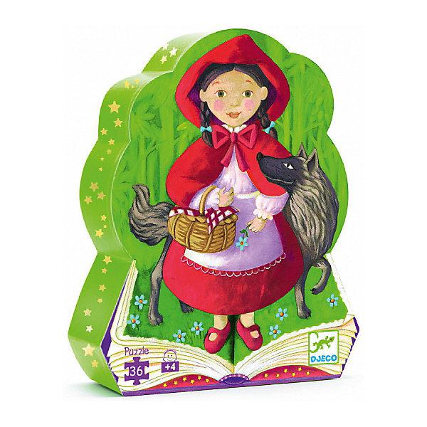 Пазл Djeco Красная шапочка, 36 элементовПазлы для малышей<br>Характеристики товара:<br><br>• возраст: от 3 лет;<br>• количество деталей: 36 шт;<br>• материал: картон;<br>• размер упаковки: 26х22х6 см;<br>• размер пазла: 42х30 см;<br>• вес упаковки: 650 гр.;<br>• страна бренда: Франция.<br><br>Djeco Пазл, Красная шапочка – это увлекательный пазл для самых маленьких. Отлично подходит для развития мелкой моторики, логики и усидчивости.<br>Оригинальный пазл познакомит со сказочной Красной шапочкой.<br><br>Djeco Пазл, Красная шапочка можно купить в нашем интернет-магазине.<br>Ширина мм: 270; Глубина мм: 260; Высота мм: 60; Вес г: 770; Возраст от месяцев: 48; Возраст до месяцев: 2147483647; Пол: Унисекс; Возраст: Детский; SKU: 7772057;