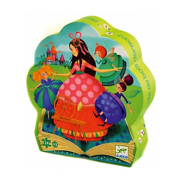 Пазл Djeco Спящая красавица, 24 элементаПазлы для малышей<br>Характеристики товара:<br><br>• возраст: от 3 лет;<br>• количество деталей: 24 шт;<br>• материал: картон;<br>• размер упаковки: 26х26х6 см;<br>• размер пазла: 62х20 см;<br>• вес упаковки: 650 гр.;<br>• страна бренда: Франция.<br><br>Djeco Пазл, Спящая красавица – это увлекательный пазл для самых маленьких. Отлично подходит для развития мелкой моторики, логики и усидчивости.<br>Оригинальный пазл расскажет историю приключений сказочной Спящей красавицы.<br><br>Djeco Пазл, Спящая красавица сказок можно купить в нашем интернет-магазине.<br>Ширина мм: 60; Глубина мм: 230; Высота мм: 260; Вес г: 770; Возраст от месяцев: 36; Возраст до месяцев: 2147483647; Пол: Унисекс; Возраст: Детский; SKU: 7772085;