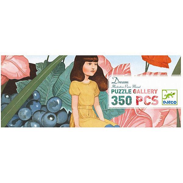 Пазл Djeco Сны, 100 элементовПазлы до 100 деталей<br>Характеристики товара:<br><br>• возраст: от 5 лет;<br>• количество деталей: 100 шт;<br>• материал: картон;<br>• размер пазла: 97х33 см;<br>• размер упаковки: 35х7х14 см;<br>• вес упаковки: 900 гр.;<br>• страна бренда: Франция.<br><br>Djeco Пазл Сны  – это увлекательный пазл для самых маленьких. Отлично подходит для развития мелкой моторики, логики и усидчивости.<br>Оригинальный пазл познакомит нас с  лесными феями.<br><br>Djeco Пазл Сны  можно купить в нашем интернет-магазине.<br>Ширина мм: 730; Глубина мм: 353; Высота мм: 143; Вес г: 1018; Возраст от месяцев: 84; Возраст до месяцев: 2147483647; Пол: Унисекс; Возраст: Детский; SKU: 7772107;