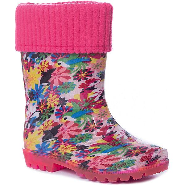 Купить Резиновые сапоги Kapika для девочки, Китай, розовый, 25, 29, 30, 28, 27, 26, Женский