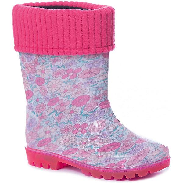 Купить Резиновые сапоги Kapika для девочки, Китай, розовый, 25, 30, 29, 28, 27, 26, Женский