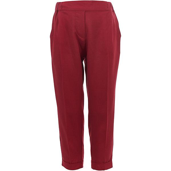Брюки Gulliver для девочкиБрюки<br>Брюки Gulliver для девочки<br>Яркие брюки – незаменимая часть гардероба девочки. Выполненные из пластичной вискозы, они сделают каждый день комфортным! Если вы решили купить детские брюки, обратите внимание на эту модель! Модный цвет, мягкость и удобство в носке позволят наслаждаться каждым летним днем. Красные брюки для девочки - превосходный акцент весенне-летнего образа. С любым однотонным или орнаментальным верхом из коллекции Коралловый остров, брюки составят отличный комплект!<br>Состав:<br>100% вискоза<br>Ширина мм: 215; Глубина мм: 88; Высота мм: 191; Вес г: 336; Цвет: красный; Возраст от месяцев: 24; Возраст до месяцев: 36; Пол: Женский; Возраст: Детский; Размер: 98,116,110,104; SKU: 7789021;