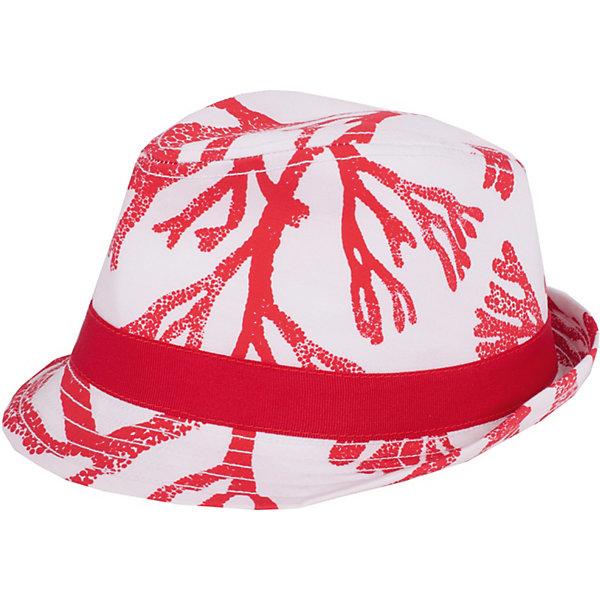 Шляпа Gulliver для девочкиГоловные уборы<br>Шляпа Gulliver для девочки<br>Конечно, детскую шляпу едва ли можно отнести к обязательным атрибутам функционального гардероба… Эта вещь - яркий акцент, способный подчеркнуть индивидуальность и оригинальность малышки. Шляпа для девочки из коллекции Коралловый остров - выразительный аксессуар, который украсит летний гардероб и сделает образ ребенка свежим и интересным.<br>Состав:<br>98% хлопок             2% эластан<br>Ширина мм: 89; Глубина мм: 117; Высота мм: 44; Вес г: 155; Цвет: белый; Возраст от месяцев: 24; Возраст до месяцев: 36; Пол: Женский; Возраст: Детский; Размер: 50; SKU: 7789026;