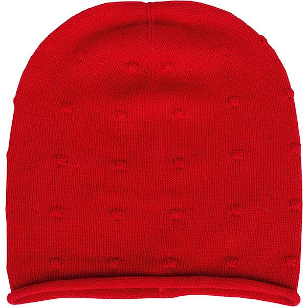 Шапка Gulliver для девочкиГоловные уборы<br>Шапка Gulliver для девочки<br>Стильная вязаная шапка - важный элемент повседневного образа. Она защитит юную модницу от весенней прохлады, а также придаст образу завершенность. Если вы решили купить детскую шапку, красная ажурная шапка из коллекции Коралловый остров- прекрасный выбор!<br>Состав:<br>55% хлопок 40% вискоза 5% шелк<br>Ширина мм: 89; Глубина мм: 117; Высота мм: 44; Вес г: 155; Цвет: красный; Возраст от месяцев: 48; Возраст до месяцев: 60; Пол: Женский; Возраст: Детский; Размер: 52,50; SKU: 7789028;