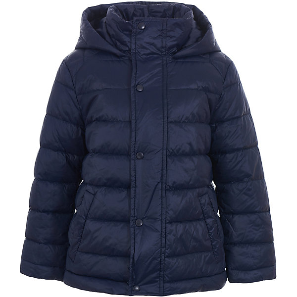 Куртка Gulliver для мальчикаДемисезонные куртки<br>Куртка Gulliver для мальчика<br>Купить детскую куртку - такую задачу ставят перед собой мамы мальчиков, отправляясь на весенний шопинг. Хорошая утепленная куртка для мальчика - вещь совершенно необходимая! Неустойчивая мартовская погода заставляет одеться не менее основательно, чем зимой, но весеннее настроение требует быть обновленным, стильным, современным! Модная стеганая куртка - именно то что вам нужно! Она выглядит интересно, солидно, достойно, придавая весеннему образу ребенка элегантность. При этом, куртка бесконечно удобна, комфортна и практична. Она не стесняет движений и позволяет мальчику быть самим собой.<br>Состав:<br>верх:                          100% полиэстер; подкладка:           50% хлопок      50% полиэстер; утеплитель: иск.пух           100% полиэстер<br>Ширина мм: 356; Глубина мм: 10; Высота мм: 245; Вес г: 519; Цвет: темно-синий; Возраст от месяцев: 24; Возраст до месяцев: 36; Пол: Мужской; Возраст: Детский; Размер: 98,116,110,104; SKU: 7789099;