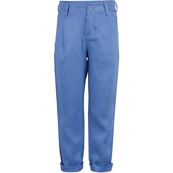 Брюки Gulliver для мальчикаБрюки<br>Брюки Gulliver для мальчика<br>Несмотря на то, что джинсы по-прежнему занимают в гардеробе ребенка первое место, классические брюки для мальчика никто не отменял! Походы в театр, в гости, на важные и торжественные мероприятия предполагают на ребенке особый look. Модные синие брюки в сочетании со стильной рубашкой, джемпером, пиджаком или жилетом сделают вашего ребенка совершенно неотразимым! Натуральный лен с характерными элегантными заминами придает модели особый шарм. Синий цвет выглядит нарядно, благородно, изысканно!<br>Состав:<br>100% лён<br>Ширина мм: 215; Глубина мм: 88; Высота мм: 191; Вес г: 336; Цвет: синий; Возраст от месяцев: 60; Возраст до месяцев: 72; Пол: Мужской; Возраст: Детский; Размер: 116,98,104,110; SKU: 7789124;