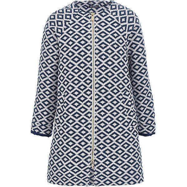 Пальто Gulliver для девочкиВерхняя одежда<br>Пальто Gulliver для девочки<br>Легкое текстильное пальто - стилеобразующий элемент коллекции Мокко. Созданное в лучших традициях Gulliver, элегантное, благородное, изысканное, пальто выглядит безупречно! Тонкое пальто без подкладки с интересным рисунком - важнейший атрибут стильного гардероба. И весной, и летом пальто дополнит модный комплект, придав ему особый шарм. Если вы хотите купить для девочки пальто без подкладки, отвечающее самым высоким требованиям красоты и комфорта, модель из коллекции Мокко - идеальный вариант!<br>Состав:<br>верх: 78% хлопок 22% полиэстер/ 100% полиэстер; подкладка: 100% нейлон<br>Ширина мм: 356; Глубина мм: 10; Высота мм: 245; Вес г: 519; Цвет: разноцветный; Возраст от месяцев: 108; Возраст до месяцев: 120; Пол: Женский; Возраст: Детский; Размер: 140,122,128,134; SKU: 7789324;