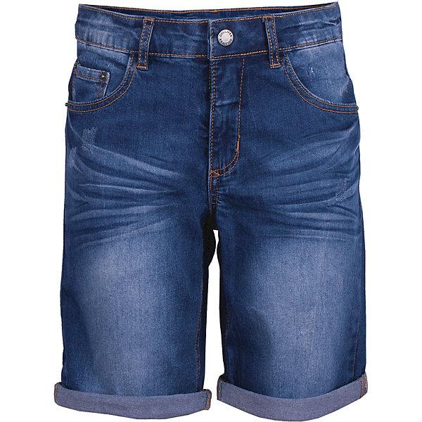 Шорты Gulliver для мальчикаДжинсовая одежда<br>Шорты Gulliver для мальчика<br>Модные шорты для мальчика с актуальными потертостями и варкой сделают образ юного джентльмена дерзким и современным! Джинсовые шорты, ставшие классикой повседневного стиля - идеальный вариант для теплой весны и жаркого лета. Удобные и практичные, джинсовые шорты из хлопка гарантируют комфорт и свободу движений. Если вы хотите купить детские шорты, которые подчеркнут стиль и индивидуальность вашего ребенка, эти классные шорты с модными повреждениями - прекрасный вариант!<br>Состав:<br>98% хлопок       2% эластан<br>Ширина мм: 191; Глубина мм: 10; Высота мм: 175; Вес г: 273; Цвет: синий; Возраст от месяцев: 108; Возраст до месяцев: 120; Пол: Мужской; Возраст: Детский; Размер: 140,122,128,134; SKU: 7789578;