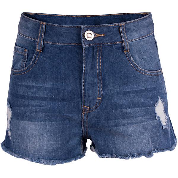 Шорты Gulliver для девочкиДжинсовая одежда<br>Шорты Gulliver для девочки<br>Модные шорты для девочки с актуальными потертостями и варкой сделают образ юной леди стильным и актуальным. Джинсовые шорты, ставшие классикой повседневного стиля - идеальный вариант для жаркого лета. Удобные и практичные, голубые джинсовые шорты из хлопка гарантируют комфорт и свободу движений. Если вы хотите купить детские шорты, которые подчеркнут стиль и индивидуальность вашего ребенка, эти классные шорты - прекрасный вариант!<br>Состав:<br>100% хлопок<br>Ширина мм: 191; Глубина мм: 10; Высота мм: 175; Вес г: 273; Цвет: голубой; Возраст от месяцев: 120; Возраст до месяцев: 132; Пол: Женский; Возраст: Детский; Размер: 146,164,158,152; SKU: 7790117;