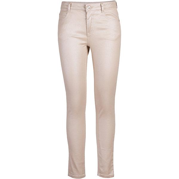 Брюки Gulliver для девочкиБрюки<br>Брюки Gulliver для девочки<br>Бежевые облегающие брюки с блестящим покрытием - хит коллекции Дюны! Прекрасные брюки, комфортные и практичные, выглядят безупречно. Несмотря на заметный блеск, они смотрятся деликатно, не затмевая свою обладательницу, а, напротив, подчеркивая ее вкус и индивидуальный стиль. Бежевые брюки органично сосуществуют со всеми моделями коллекции Дюны, создавая прекрасные комплекты на каждый день!<br>Состав:<br>98% хлопок 2% эластан<br>Ширина мм: 215; Глубина мм: 88; Высота мм: 191; Вес г: 336; Цвет: бежевый; Возраст от месяцев: 120; Возраст до месяцев: 132; Пол: Женский; Возраст: Детский; Размер: 146,164,158,152; SKU: 7790127;
