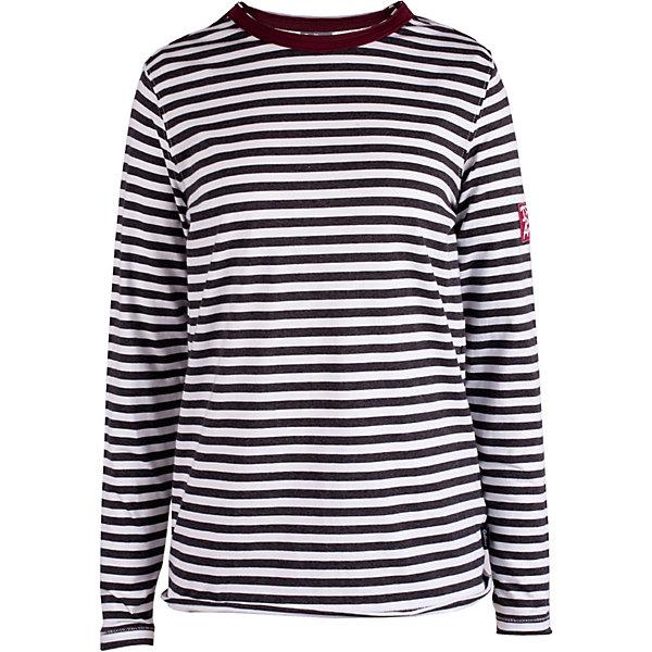 Футболка с длинным рукавом Gulliver для мальчикаФутболки с длинным рукавом<br>Футболка Gulliver для мальчика<br>Если вы хотите купить футболку для мальчика с длинным рукавом, которая станет украшением детского летнего гардероба, тогда эта классная полосатая футболка с крупным шрифтовым принтом - отличный выбор! Модная футболка выполнена из мягкого хлопка с эластаном. Она сделает каждый день ребенка ярким и увлекательным, подарив комфорт и свободу движений!<br>Состав:<br>95% хлопок      5% эластан<br>Ширина мм: 199; Глубина мм: 10; Высота мм: 161; Вес г: 151; Цвет: белый; Возраст от месяцев: 120; Возраст до месяцев: 132; Пол: Мужской; Возраст: Детский; Размер: 164,158,146,152; SKU: 7790180;