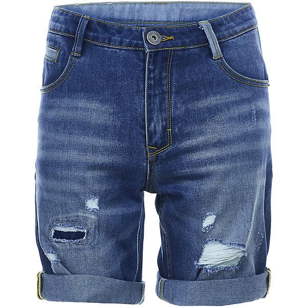 Шорты Gulliver для мальчикаДжинсовая одежда<br>Шорты Gulliver для мальчика<br>Школьный сезон позади и пора составлять летний гардероб ребенка... Джинсовые шорты для мальчика - вещь совершенно необходимая! Они подарят 100% комфорт и сделают образ стильным и современным. Летние шорты с эффектными повреждениями и варкой будут лучшим подарком для мальчика-подростка, идущего в ногу со временем. Если вы решили купить детские шорты, остановите свой выбор на этой модели! Модные джинсовые шорты - ваш ответ жаркому лету!<br>Состав:<br>100% хлопок<br>Ширина мм: 191; Глубина мм: 10; Высота мм: 175; Вес г: 273; Цвет: синий; Возраст от месяцев: 120; Возраст до месяцев: 132; Пол: Мужской; Возраст: Детский; Размер: 146,164,158,152; SKU: 7790215;