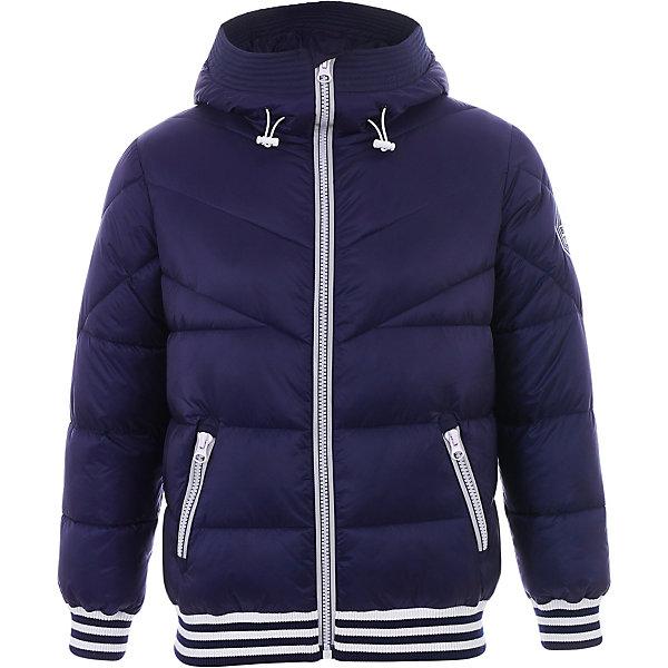 Куртка Gulliver для мальчикаДемисезонные куртки<br>Куртка Gulliver для мальчика<br>Хит коллекции 3D клуб - куртка для мальчика из сияющей плащевки с металлизированным эффектом! Эта куртка может понравиться или нет, но она, безусловно, обратит на себя внимание как яркая интересная необычная модель для стильного подростка. Модная утепленная куртка для мальчика - прекрасный вариант для прогулок, путешествий и активного отдыха. Оформление модели крупным принтом делает модель очень интересной, эффектной и запоминающейся. Куртка идеально дополнит любой образ из коллекции 3D клуб, сделав его острее, интереснее, экстравагантнее. Стильная куртка для мальчика не только имиджевая составляющая образа, но еще и важная функциональная деталь гардероба. В прохладный весенний день, в сырую и ветреную погоду куртка создаст необходимые тепло, комфорт и уют.<br>Состав:<br>верх:  100% нейлон; подкладка:  100% полиэстер; утеплитель: иск.пух  100% полиэстер<br>Ширина мм: 356; Глубина мм: 10; Высота мм: 245; Вес г: 519; Цвет: темно-синий; Возраст от месяцев: 156; Возраст до месяцев: 168; Пол: Мужской; Возраст: Детский; Размер: 164,146,152,158; SKU: 7790304;