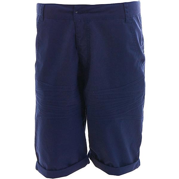 Шорты Gulliver для мальчикаШорты, бриджи, капри<br>Шорты Gulliver для мальчика<br>Несмотря на то, что джинсовые шорты по-прежнему занимают в гардеробе ребенка лидирующее место, текстильные шорты для мальчика никто не отменял! Везде, где шорты из джинсы неуместны или просто хочется разнообразия, оригинальные синие шорты помогут создать прекрасный look. Синий цвет выглядит нарядно, благородно, изысканно! Если вы хотите купить детские шорты, которые подчеркнут стиль и индивидуальность вашего ребенка, эти классные шорты для мальчика - лучшее решение для модного лета!<br>Состав:<br>98% хлопок 2% эластан<br>Ширина мм: 191; Глубина мм: 10; Высота мм: 175; Вес г: 273; Цвет: темно-синий; Возраст от месяцев: 120; Возраст до месяцев: 132; Пол: Мужской; Возраст: Детский; Размер: 146,164,158,152; SKU: 7790324;