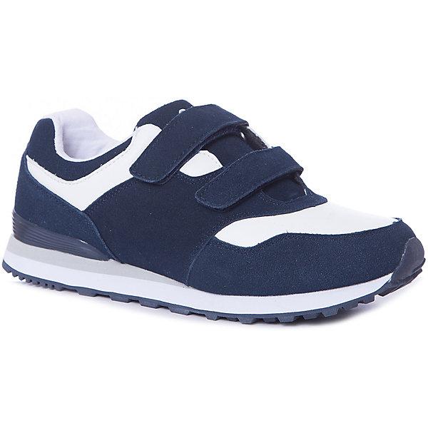 Кроссовки Gulliver для мальчикаКроссовки<br>Кроссовки Gulliver для мальчика<br>Кеды, кроссовки, слипоны… С каждым днем спортивная обувь все больше входит в жизнь наших детей, вытесняя привычные мокасины, сандалии, туфли. Стильные кроссовки, построенные на цветовом сочетании синего и белого - мечта каждого модника! Они отлично завершат любой образ в спортивном и casual стиле, придав ему остроту, динамику и индивидуальность. Стильный дизайн, красивая форма, натуральные материалы обеспечат ребенку комфорт каждым летним днем. Если вы хотите купить кроссовки для мальчика, создающие настроение, выбор этой модели - правильное решение!<br>Состав:<br>Верх: нат замша+кожа; подклад и стелька: хлопок; подошва: ЕВА+резина<br>Ширина мм: 250; Глубина мм: 150; Высота мм: 150; Вес г: 250; Цвет: синий; Возраст от месяцев: 168; Возраст до месяцев: 192; Пол: Мужской; Возраст: Детский; Размер: 40,37,38,39; SKU: 7790350;