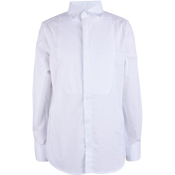 Сорочка Gulliver для мальчикаБлузки и рубашки<br>Сорочка Gulliver для мальчика<br>В преддверии весенних праздников, выпускных мероприятий, дней рождения или выхода в свет по другому приятному поводу, купить сорочку для мальчика, нарядную и белую, становится для мамы острой необходимостью! Классическая сорочка с элегантными защипами – важный атрибут элегантного гардероба. Современный крой обеспечивает прекрасную посадку изделия на фигуре. 100% хлопок в составе ткани создает исключительные гигиенические характеристики, что сделает длительное пребывание в сорочке очень комфортным.<br>Состав:<br>100% хлопок<br>Ширина мм: 174; Глубина мм: 10; Высота мм: 169; Вес г: 157; Цвет: белый; Возраст от месяцев: 72; Возраст до месяцев: 84; Пол: Мужской; Возраст: Детский; Размер: 122,140,134,128; SKU: 7790355;