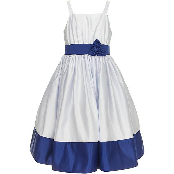 Платье Gulliver для девочкиПлатья и сарафаны<br>Платье Gulliver для девочки<br>Роскошное атласное платье из коллекции Ницца - образец благородства и изящества. Белый приталенный лиф и юбка, оформленные контрастным поясом и широким кантом по низу изделия, создают головокружительный эффект модели для настоящей принцессы. В гардеробе ребенка не должно быть много нарядных платьев. Всего одно, но самого высокого качества подарит девочке элегантность и уверенность в себе. Если вы хотите купить детское платье для торжественных случаев, эта модель из коллекции Ницца - прекрасный выбор для стильной современной барышни с хорошим вкусом и благородными манерами.<br>Состав:<br>верх:                            100% полиэстер; подкладка:           100% хлопок<br>Ширина мм: 236; Глубина мм: 16; Высота мм: 184; Вес г: 177; Цвет: белый; Возраст от месяцев: 72; Возраст до месяцев: 84; Пол: Женский; Возраст: Детский; Размер: 122,140,134,128; SKU: 7790433;