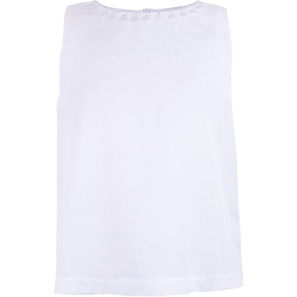 Блузка Gulliver для девочкиОдежда<br>Блузка Gulliver для девочки<br>Белая блузка для девочки лишь на первый взгляд выглядит просто. В ее лаконичности огромный смысл. Она уравновешивает комплект с пышной юбкой, делая его изысканнее и благороднее. Изюминка модели в изящном оформлении горловины бисером и стеклярусом. Лаконичная спокойная блузка из мягкой прохладной вискозы понравится всем, кто предпочитает обманчивому шику гламура неброскую элегантность по-настоящему красивых вещей.<br>Состав:<br>100% вискоза<br>Ширина мм: 186; Глубина мм: 87; Высота мм: 198; Вес г: 197; Цвет: белый; Возраст от месяцев: 132; Возраст до месяцев: 144; Пол: Женский; Возраст: Детский; Размер: 152,146,164,158; SKU: 7790466;