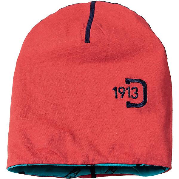 Шапка KHAM DIDRIKSONS1913Головные уборы<br>Характеристики товара:<br><br>• цвет: красный;<br>• состав: 100% хлопок; <br>• температурный режим: от +10 градусов и выше;<br>• сезон: демисезон;<br>• эластичный материал;<br>• принт-логотип;<br>• страна бренда: Швеция.<br><br>Детская шапка двусторонняя  «KHAM» от производителя DIDRIKSONS1913 выполнена из мягкого 100% хлопка. Ткань идеально прилегает к голове, хорошо тянется, не сдавливает и не сковывает движений. Модель выполнена в ярком синем цвете. Спереди принт с логотипом фирмы. Модель будет удачно гармонировать с любыми предметами гардероба.<br><br>DIDRIKSONS 1913 (Швеция) - ведущий европейский производитель функциональной одежды для города, туризма, активного отдыха на природе и спорта. Шведский бренд Дидриксон так же тщательно относится к созданию различных аксессуаров, как и к производству своей удивительной одежды.<br><br>Детскую шапку двустороннюю «BROOK»от бренда DIDRIKSONS1913 (Дидриксон1913) можно купить в нашем интернет-магазине.<br>Ширина мм: 89; Глубина мм: 117; Высота мм: 44; Вес г: 155; Цвет: белый; Возраст от месяцев: 6; Возраст до месяцев: 12; Пол: Унисекс; Возраст: Детский; Размер: 46,48; SKU: 7797502;