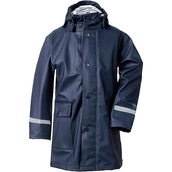 Непромокаемый плащ MAKRILL DIDRIKSONS1913Верхняя одежда<br>Характеристики товара:<br><br>• цвет: синий;<br>• внешняя ткань: Galon 100% полиуретан; <br>• подкладка: трикотаж 100% полиэстер;<br>• водонепроницаемость: 8000 мм.<br>• воздухонепроницаемость: 5000 г/м2/24ч <br>• температурный режим: от +10 до +20 С;<br>• сезон: демисезон;<br>• модель: плащ;<br>• застежка: на кнопках;<br>• регулируемый подол;<br>• защита подбородка;<br>• капюшон отстёгивается;<br>• эластичный материал;<br>• скрытый шов (увеличивается длина рукава);<br>• светоотражатели;<br>• страна бренда: Швеция.<br><br>Детский плащ «MAKRILL» шведской марки Didriksons 1913 рассчитана на температурный режим от +10 градусов. Выполнена из непромокаемого и не продуваемого запатентованного материала Galon (полиуретан), который тянется во всех направлениях и не сковывает движения ребенка. Удлиненная модель свободного кроя, выполнена в ярком синем цвете,  дополнена карманами и светоотражающими элементами. <br><br>Все швы проклеены, внешняя поверхность ткани обработана дополнительной водоотталкивающей пропиткой, что обеспечивает максимальную защиту от внешней влаги. В таком плаще ребенок может находится под дождем, не боясь промокнуть! <br><br>DIDRIKSONS 1913 (Швеция) - ведущий европейский производитель функциональной одежды для города, туризма, активного отдыха на природе и спорта. Непромокаемая одежда Didriksons очень проста в уходе. Загрязнения легко удаляются влажной губкой или под струей воды. <br><br>Детский плащ «MAKRILL» от бренда DIDRIKSONS1913 (Дидриксон1913) можно купить в нашем интернет-магазине.<br>Ширина мм: 356; Глубина мм: 10; Высота мм: 245; Вес г: 519; Цвет: синий; Возраст от месяцев: 18; Возраст до месяцев: 24; Пол: Унисекс; Возраст: Детский; Размер: 90,140,130,120,110,100; SKU: 7797694;