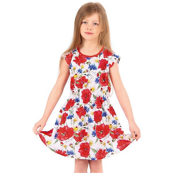 Платье АпрельПлатья и сарафаны<br>Характеристики товара:<br><br>• цвет: белый<br>• состав ткани: 100% хлопок<br>• сезон: лето<br>• короткие рукава<br>• яркий принт<br>• страна бренда: Россия<br><br>Приталенное платье для ребенка от популярного бренда Апрель имеет длину до колена. Материал этого детского платья - чистый натуральный хлопок, который позволит создать комфортные условия для тела. Такое платье для детей смотрится симпатично и модно.<br><br>Платье Апрель можно купить в нашем интернет-магазине.<br>Ширина мм: 236; Глубина мм: 16; Высота мм: 184; Вес г: 177; Цвет: разноцветный; Возраст от месяцев: 120; Возраст до месяцев: 132; Пол: Унисекс; Возраст: Детский; Размер: 146,116,122,128,134,140; SKU: 7799570;