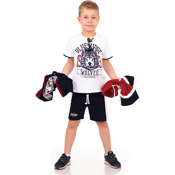 Футболка АпрельФутболки, поло и топы<br>Характеристики товара:<br><br>• цвет: белый<br>• состав ткани: 92% хлопок, 8% лайкра<br>• сезон: лето<br>• короткие рукава<br>• с рисунком<br>• страна бренда: Россия<br><br>Белая футболка для детей от известного бренда Апрель может стать удобной базовой вещью для гардероба. Мягкая футболка для ребенка украшена стильным принтом. Эта детская футболка сделана из качественного дышащего материала, безопасного для детей.<br><br>Футболку Апрель можно купить в нашем интернет-магазине.<br>Ширина мм: 190; Глубина мм: 74; Высота мм: 229; Вес г: 236; Цвет: белый; Возраст от месяцев: 84; Возраст до месяцев: 96; Пол: Унисекс; Возраст: Детский; Размер: 110,98,104,116,122,128; SKU: 7799615;