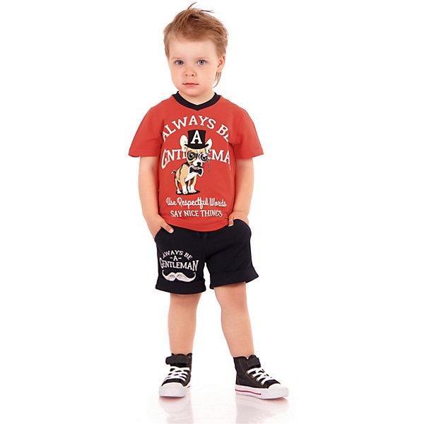 Футболка АпрельФутболки, поло и топы<br>Характеристики товара:<br><br>• цвет: красный<br>• состав ткани: 100% хлопок<br>• сезон: лето<br>• короткие рукава<br>• с рисунком<br>• страна бренда: Россия<br><br>Красная футболка для детей от российского бренда Апрель отличается высоким качеством пошива. Такая детская футболка сшита из легкого дышащего материала, её швы тщательно обработаны. Эта футболка для ребенка декорирована эффектным принтом. <br><br>Футболку Апрель можно купить в нашем интернет-магазине.<br>Ширина мм: 190; Глубина мм: 74; Высота мм: 229; Вес г: 236; Цвет: красный; Возраст от месяцев: 12; Возраст до месяцев: 18; Пол: Унисекс; Возраст: Детский; Размер: 104,98,92,86,116,110; SKU: 7799680;
