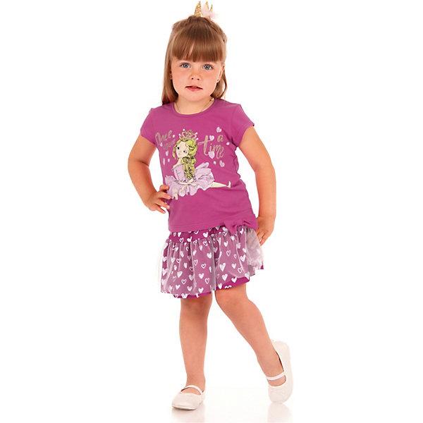 Футболка АпрельФутболки, поло и топы<br>Характеристики товара:<br><br>• цвет: розовый<br>• состав ткани: 100% хлопок<br>• сезон: лето<br>• короткие рукава<br>• с рисунком<br>• страна бренда: Россия<br><br>Оригинальная детская футболка - отличный способ разнообразить детский гардероб ребенка. Эта футболка для ребенка декорирована эффектным принтом. Она может стать удобной и модной вещью для летнего гардероба. <br><br>Блузку Апрель можно купить в нашем интернет-магазине.<br>Ширина мм: 190; Глубина мм: 74; Высота мм: 229; Вес г: 236; Цвет: разноцветный; Возраст от месяцев: 12; Возраст до месяцев: 18; Пол: Унисекс; Возраст: Детский; Размер: 86,116,110,104,98,92; SKU: 7799761;