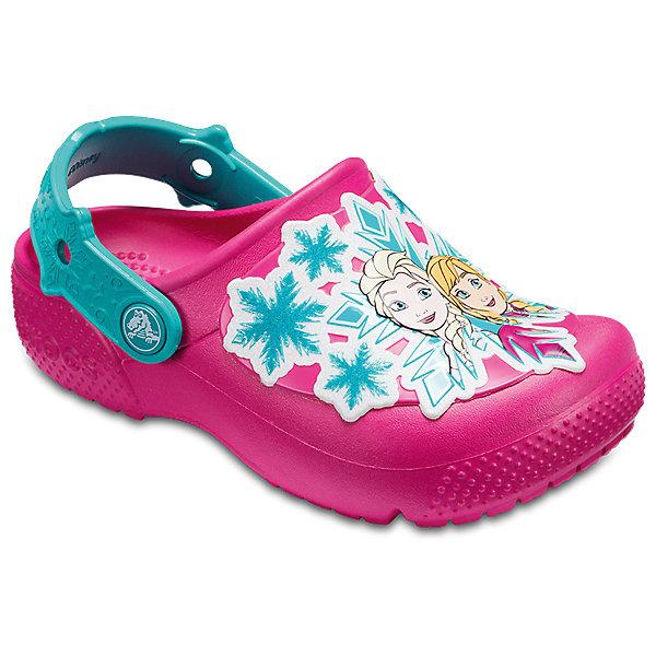 Купить Сабо Disney Princess CROCS для девочки, Китай, розовый, 21, 34/35, 33/34, 31/32, 30/31, 29/30, 28/29, 27/28, 26, 25, 24, 23, 22, Женский