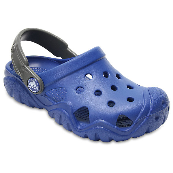 Сабо  CROCS для мальчикаПляжная обувь<br>Сабо  CROCS для мальчика<br>Swiftwater Clog K<br>Состав:<br>100% пластик<br>Ширина мм: 225; Глубина мм: 139; Высота мм: 112; Вес г: 290; Цвет: синий; Возраст от месяцев: 48; Возраст до месяцев: 60; Пол: Мужской; Возраст: Детский; Размер: 34/35,33/34,31/32,30/31,29/30,27/28,26,28/29,25,24,23; SKU: 7892421;