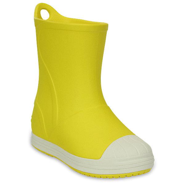 Резиновые сапоги  CROCSРезиновые сапоги<br>Резиновые сапоги  CROCS <br>Crocs Bump It Boot<br>Состав:<br>100% полимер Croslite™<br>Ширина мм: 237; Глубина мм: 180; Высота мм: 152; Вес г: 438; Цвет: желтый; Возраст от месяцев: 120; Возраст до месяцев: 132; Пол: Унисекс; Возраст: Детский; Размер: 34/35,33/34,31/32,30,29,28,27,26,25,24,23; SKU: 7892457;