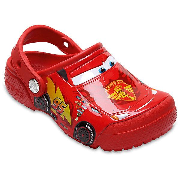 Сабо Disney Cars CROCS для мальчикаПляжная обувь<br>Сабо Disney Cars CROCS для мальчика<br>CrocsFunLab Cars Clog K<br>Состав:<br>100% полимер Croslite™<br>Ширина мм: 225; Глубина мм: 139; Высота мм: 112; Вес г: 290; Цвет: красный; Возраст от месяцев: 24; Возраст до месяцев: 24; Пол: Мужской; Возраст: Детский; Размер: 25,24,23,22,21,34/35,33/34,31/32,30,29,28,27,26; SKU: 7892682;