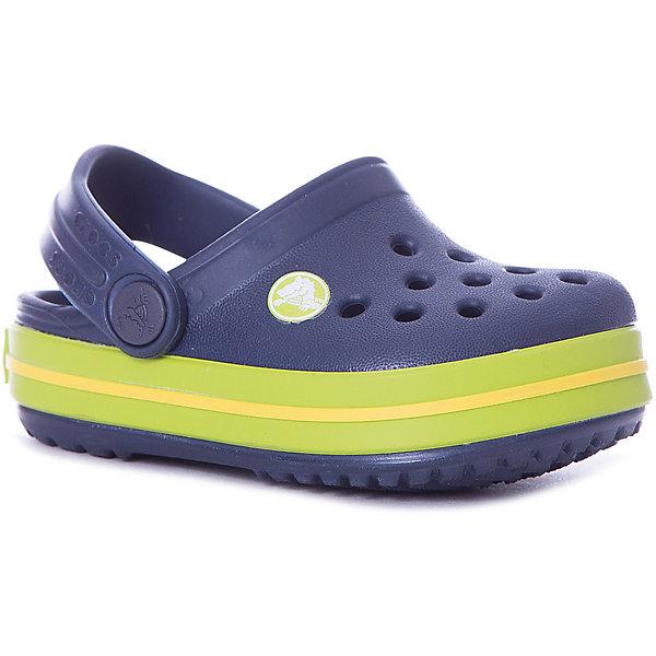 Сабо  CROCS для мальчикаПляжная обувь<br>Сабо  CROCS для мальчика<br>Crocband Clog K<br>Состав:<br>100% полимер Croslite™<br>Ширина мм: 225; Глубина мм: 139; Высота мм: 112; Вес г: 290; Цвет: синий; Возраст от месяцев: 21; Возраст до месяцев: 24; Пол: Мужской; Возраст: Детский; Размер: 24,25,23,22,21,34/35,33/34,31/32,30,29,28,27,26; SKU: 7892948;