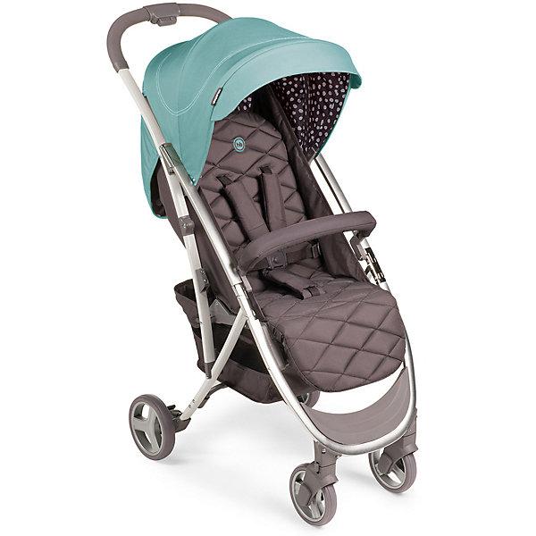 Коляска прогулочная Happy Baby Eleganza V2, AquaСезон весна-лето<br>Характеристики:<br><br>• прогулочная коляска для детей от 6 месяцев до 3-х лет;<br>• допустимый вес ребенка: 15 кг;<br>• регулируемый наклон спинки: 3 положения;<br>• регулируемая высота подножки;<br>• 5-ти точечные ремни безопасности;<br>• защитный бампер отводится в сторону;<br>• дополнительная пластиковая подножка для подросшего малыша;<br>• глубокий капюшон оснащен солнцезащитным козырьком;<br>• смотровое окошко;<br>• коляска складывается одной рукой: кнопка на ручке;<br>• тип складывания: книжка;<br>• передние поворотные колеса с блокировкой;<br>• корзина для покупок;<br>• съемный чехол коляски;<br>• в комплекте: дождевик, москитная сетка, чехол на ножки, инструкция;<br>• материал коляски: алюминий, пластик, полиэстер; <br>• материал колес: пластиковые колеса с покрытием EVA (этиленвинилацетат);<br>• цвет: голубой;<br>• размер коляски: 88х50х107 см;<br>• размер коляски в сложенном виде: 63х50х31 см;<br>• вес коляски: 7,44 кг;<br>• длина спального места: 86 см;<br>• ширина сиденья: 34 см;<br>• глубина сиденья: 22 см;<br>• ширина колесной базы: 50 см;<br>• диаметр колес: передние 15,2 см, задние 17, 8 см;<br>• размер упаковки:70х44,5х25 см;<br>• вес в упаковке: 8,9 кг.<br><br>Прогулочная коляска Eleganza V2 оснащена системой амортизации, ребенка не трясет при движении по неровной дороге. Коляска 4-х колесная, передние поворотные колеса можно зафиксировать или снять блокировку. Спинка сиденья опускается до горизонтального положения под углом 175 градусов для комфортного сна ребенка. Функциональный капюшон с водоотталкивающей пропиткой защищает от дождя, снега и УФ-излучения. Смотровое окошко позволяет контролировать состояние ребенка, не нарушая его сон и спокойствие. Безопасность малыша обеспечивается благодаря системе 5-ти точечных ремней безопасности с мягкими накладками. Защитный бампер обтянут мягкой тканью, отводится в сторону для посадки малыша. Коляска компактно складывается одной рукой по