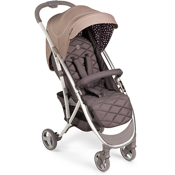Коляска прогулочная Happy Baby Eleganza V2, SandСезон весна-лето<br>Характеристики:<br><br>• прогулочная коляска для детей от 6 месяцев до 3-х лет;<br>• допустимый вес ребенка: 15 кг;<br>• регулируемый наклон спинки: 3 положения;<br>• регулируемая высота подножки;<br>• 5-ти точечные ремни безопасности;<br>• защитный бампер отводится в сторону;<br>• дополнительная пластиковая подножка для подросшего малыша;<br>• глубокий капюшон оснащен солнцезащитным козырьком;<br>• смотровое окошко;<br>• коляска складывается одной рукой: кнопка на ручке;<br>• тип складывания: книжка;<br>• передние поворотные колеса с блокировкой;<br>• корзина для покупок;<br>• съемный чехол коляски;<br>• в комплекте: дождевик, москитная сетка, чехол на ножки, инструкция;<br>• материал коляски: алюминий, пластик, полиэстер; <br>• материал колес: пластиковые колеса с покрытием EVA (этиленвинилацетат);<br>• цвет: голубой;<br>• размер коляски: 88х50х107 см;<br>• размер коляски в сложенном виде: 63х50х31 см;<br>• вес коляски: 7,44 кг;<br>• длина спального места: 86 см;<br>• ширина сиденья: 34 см;<br>• глубина сиденья: 22 см;<br>• ширина колесной базы: 50 см;<br>• диаметр колес: передние 15,2 см, задние 17, 8 см;<br>• размер упаковки:70х44,5х25 см;<br>• вес в упаковке: 8,9 кг.<br><br>Прогулочная коляска Eleganza V2 оснащена системой амортизации, ребенка не трясет при движении по неровной дороге. Коляска 4-х колесная, передние поворотные колеса можно зафиксировать или снять блокировку. Спинка сиденья опускается до горизонтального положения под углом 175 градусов для комфортного сна ребенка. Функциональный капюшон с водоотталкивающей пропиткой защищает от дождя, снега и УФ-излучения. Смотровое окошко позволяет контролировать состояние ребенка, не нарушая его сон и спокойствие. Безопасность малыша обеспечивается благодаря системе 5-ти точечных ремней безопасности с мягкими накладками. Защитный бампер обтянут мягкой тканью, отводится в сторону для посадки малыша. Коляска компактно складывается одной рукой по