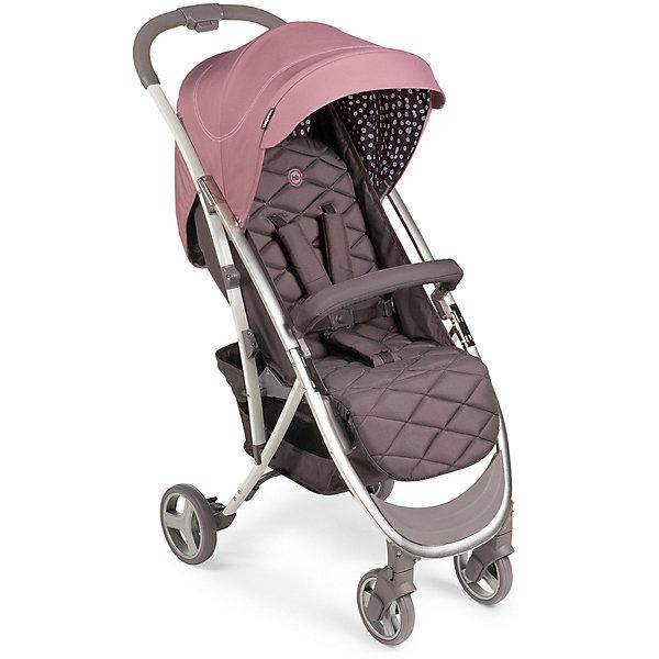 Коляска прогулочная Happy Baby Eleganza V2, PinkСезон весна-лето<br>Характеристики:<br><br>• прогулочная коляска для детей от 6 месяцев до 3-х лет;<br>• допустимый вес ребенка: 15 кг;<br>• регулируемый наклон спинки: 3 положения;<br>• регулируемая высота подножки;<br>• 5-ти точечные ремни безопасности;<br>• защитный бампер отводится в сторону;<br>• дополнительная пластиковая подножка для подросшего малыша;<br>• глубокий капюшон оснащен солнцезащитным козырьком;<br>• смотровое окошко;<br>• коляска складывается одной рукой: кнопка на ручке;<br>• тип складывания: книжка;<br>• передние поворотные колеса с блокировкой;<br>• корзина для покупок;<br>• съемный чехол коляски;<br>• в комплекте: дождевик, москитная сетка, чехол на ножки, инструкция;<br>• материал коляски: алюминий, пластик, полиэстер; <br>• материал колес: пластиковые колеса с покрытием EVA (этиленвинилацетат);<br>• цвет: голубой;<br>• размер коляски: 88х50х107 см;<br>• размер коляски в сложенном виде: 63х50х31 см;<br>• вес коляски: 7,44 кг;<br>• длина спального места: 86 см;<br>• ширина сиденья: 34 см;<br>• глубина сиденья: 22 см;<br>• ширина колесной базы: 50 см;<br>• диаметр колес: передние 15,2 см, задние 17, 8 см;<br>• размер упаковки:70х44,5х25 см;<br>• вес в упаковке: 8,9 кг.<br><br>Прогулочная коляска Eleganza V2 оснащена системой амортизации, ребенка не трясет при движении по неровной дороге. Коляска 4-х колесная, передние поворотные колеса можно зафиксировать или снять блокировку. Спинка сиденья опускается до горизонтального положения под углом 175 градусов для комфортного сна ребенка. Функциональный капюшон с водоотталкивающей пропиткой защищает от дождя, снега и УФ-излучения. Смотровое окошко позволяет контролировать состояние ребенка, не нарушая его сон и спокойствие. Безопасность малыша обеспечивается благодаря системе 5-ти точечных ремней безопасности с мягкими накладками. Защитный бампер обтянут мягкой тканью, отводится в сторону для посадки малыша. Коляска компактно складывается одной рукой по