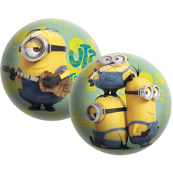 Мяч Unice Миньоны , 15 смМячи детские<br>Характеристики:<br><br>• тип игрушки: мяч;<br>• возраст: от 2 лет;<br>• материал: ПВХ;<br>• цвет: желтый;<br>• вес: 100 гр;<br>• размер: 15х15х15 см;<br>• бренд: Unice.<br><br>Мяч Unice «Миньоны», 15 см удобен для самых маленьких ребят своим небольшим диаметром, гладкостью, отличной прыгучестью и яркостью. Он станет отличным решением для игр как на открытом воздухе, так и в просторном помещении. Мячик изготавливается из сертифицированных качественных материалов.<br><br>Яркие красочные рисунки привлекут внимание самых маленьких игроков. Диаметр изделия идеален для малышей, мячик удобно держать в ладошках и пинать ножками. Мяч незаменим для веселых подвижных игр в большой компании, которые способствуют развитию глазомера, воображения, скорости реакции, ловкости.<br><br>Для изготовления мяча используется ПВХ высочайшего качества, благодаря чему он очень упругий. Изображения на изделии отличаются высокой стойкостью, они не потускнеют со временем и не сотрутся при частых играх.<br><br>Мяч Unice «Миньоны», 15 см можно купить в нашем интернет-магазине.<br>Ширина мм: 15; Глубина мм: 15; Высота мм: 15; Вес г: 100; Возраст от месяцев: 24; Возраст до месяцев: 60; Пол: Унисекс; Возраст: Детский; SKU: 7905786;