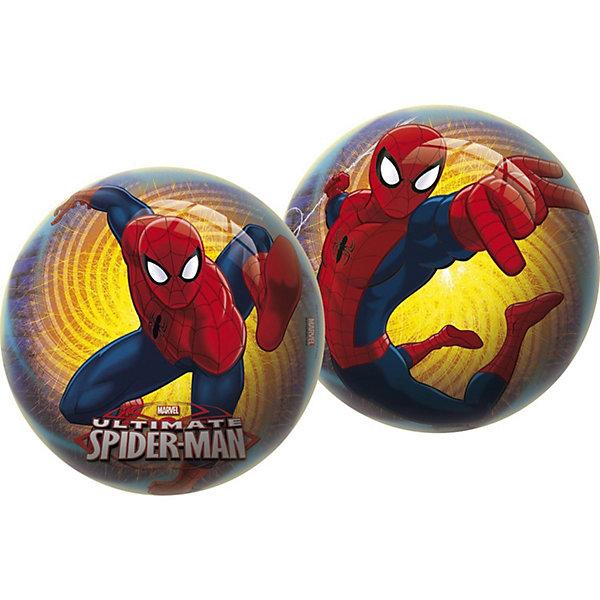 Мяч Unice Спайдермен , 23 смПопулярные игрушки<br>Характеристики:<br><br>• тип игрушки: мяч;<br>• возраст: от 2 лет;<br>• материал: ПВХ;<br>• цвет: желтый, синий, красный;<br>• вес: 150 гр;<br>• размер: 23х23х23 см;<br>• бренд: Unice.<br><br>Мяч Unice «Спайдермен», 23 см удобен для самых маленьких ребят своим небольшим диаметром, гладкостью, отличной прыгучестью и яркостью. Он станет отличным решением для игр как на открытом воздухе, так и в просторном помещении. Мячик изготавливается из сертифицированных качественных материалов.<br><br>Яркие красочные рисунки привлекут внимание самых маленьких игроков. Диаметр изделия идеален для малышей, мячик удобно держать в ладошках и пинать ножками. Мяч незаменим для веселых подвижных игр в большой компании, которые способствуют развитию глазомера, воображения, скорости реакции, ловкости.<br><br>Для изготовления мяча используется ПВХ высочайшего качества, благодаря чему он очень упругий. Изображения на изделии отличаются высокой стойкостью, они не потускнеют со временем и не сотрутся при частых играх.<br><br>Мяч Unice «Спайдермен», 23 см можно купить в нашем интернет-магазине.<br>Ширина мм: 23; Глубина мм: 23; Высота мм: 23; Вес г: 150; Возраст от месяцев: 24; Возраст до месяцев: 60; Пол: Унисекс; Возраст: Детский; SKU: 7905790;