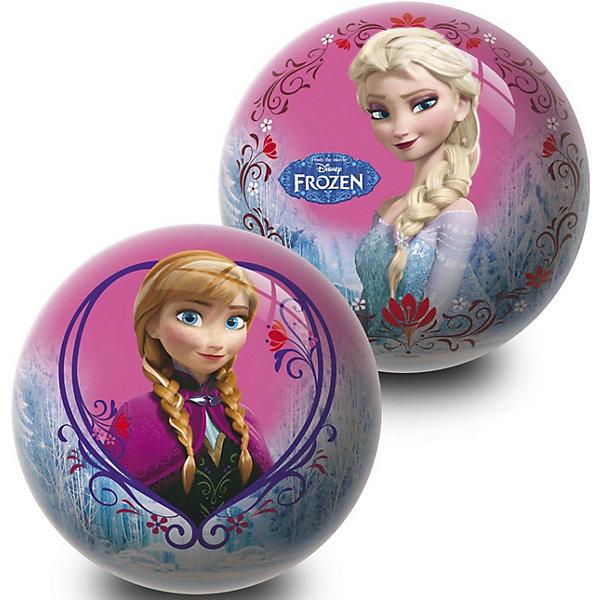 Мяч Unice Холодное сердце , 23 смПопулярные игрушки<br>Характеристики:<br><br>• тип игрушки: мяч;<br>• возраст: от 2 лет;<br>• материал: ПВХ;<br>• цвет: розовый, желтый;<br>• вес: 150 гр;<br>• размер: 23х23х23 см;<br>• бренд: Unice.<br><br>Мяч Unice «Холодное сердце», для девочек 23 см удобен для самых маленьких ребят своим небольшим диаметром, гладкостью, отличной прыгучестью и яркостью. Он станет отличным решением для игр как на открытом воздухе, так и в просторном помещении. Мячик изготавливается из сертифицированных качественных материалов.<br><br>Яркие красочные рисунки привлекут внимание самых маленьких игроков. Диаметр изделия идеален для малышей, мячик удобно держать в ладошках и пинать ножками. Мяч незаменим для веселых подвижных игр в большой компании, которые способствуют развитию глазомера, воображения, скорости реакции, ловкости.<br><br>Для изготовления мяча используется ПВХ высочайшего качества, благодаря чему он очень упругий. Изображения на изделии отличаются высокой стойкостью, они не потускнеют со временем и не сотрутся при частых играх.<br><br>Мяч Unice «Холодное сердце», для девочек 23 см можно купить в нашем интернет-магазине.<br>Ширина мм: 23; Глубина мм: 23; Высота мм: 23; Вес г: 150; Возраст от месяцев: 24; Возраст до месяцев: 60; Пол: Женский; Возраст: Детский; SKU: 7905814;
