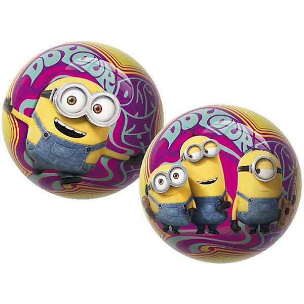 Мяч Unice Миньоны , 23смМиньоны<br>Характеристики:<br><br>• тип игрушки: мяч;<br>• возраст: от 2 лет;<br>• материал: ПВХ;<br>• цвет: желтый;<br>• вес: 150 гр;<br>• размер: 23х23х23 см;<br>• бренд: Unice.<br><br>Мяч Unice «Миньоны», 23 см удобен для самых маленьких ребят своим небольшим диаметром, гладкостью, отличной прыгучестью и яркостью. Он станет отличным решением для игр как на открытом воздухе, так и в просторном помещении. Мячик изготавливается из сертифицированных качественных материалов.<br><br>Яркие красочные рисунки привлекут внимание самых маленьких игроков. Диаметр изделия идеален для малышей, мячик удобно держать в ладошках и пинать ножками. Мяч незаменим для веселых подвижных игр в большой компании, которые способствуют развитию глазомера, воображения, скорости реакции, ловкости.<br><br>Для изготовления мяча используется ПВХ высочайшего качества, благодаря чему он очень упругий. Изображения на изделии отличаются высокой стойкостью, они не потускнеют со временем и не сотрутся при частых играх.<br><br>Мяч Unice «Миньоны», 23 см можно купить в нашем интернет-магазине.<br>Ширина мм: 23; Глубина мм: 23; Высота мм: 23; Вес г: 150; Возраст от месяцев: 24; Возраст до месяцев: 60; Пол: Унисекс; Возраст: Детский; SKU: 7905816;