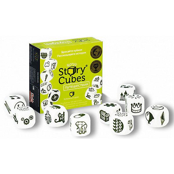 Игра RORYS STORY CUBES RSC3 Кубики Историй ПутешествияНастольные игры для всей семьи<br>Характеристики:<br><br>• тип игрушки: настольная игра;<br>• возраст: от 5 лет;<br>• материал: картон, дерево;<br>• комплектация: 9 кубиков с 54 разными изображениями;<br><br>• количество игроков: 2-5 человек;<br>• время игры: 10-15 мин;<br>• вес: 83 гр;<br>• размер: 8х3х7,5 см;<br>• бренд: Rory`s Story Cubes.<br><br>Настольная игра Rory`s Story Cubes  «Кубики Историй Путешествия» несомненно порадует каждого ребенка. Издание с самыми интересными картинками - предметы и явления, встречающиеся в определенных странах (возможно даже фантастических!) Подойдет как первый или второй набор Кубиков Историй.<br><br>Версию VOYAGES можно объединять с любой другой, добавляя таким образом историям новые акценты про достопримечательности, транспорт и экзотические приключения. Изображения на кубиках сделаны зелеными специально для того, чтобы различные наборы не перепутались - у каждой версии свой цвет.<br><br>Настольную игру Rory`s Story Cubes  «Кубики Историй Путешествия» можно купить в нашем интернет-магазине.<br>Ширина мм: 75; Глубина мм: 80; Высота мм: 30; Вес г: 83; Возраст от месяцев: 60; Возраст до месяцев: 2147483647; Пол: Унисекс; Возраст: Детский; SKU: 7906243;
