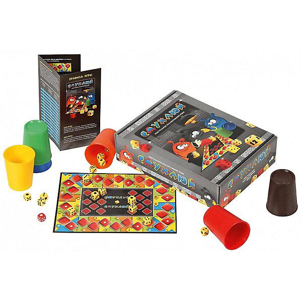 Настольная игра Биплант 10039 СмухлюйСтратегические настольные игры<br>Характеристики:<br><br>• тип игрушки: настольная игра;<br>• возраст: от 12 лет;<br>• материал:  картон, пластик;<br>• комплектация: игровое поле, стаканчики, кубики, правила игры;<br>• количество игроков: от 2-6 человек;<br>• вес: 552 гр;<br>• размер: 20х28х7,5 см;<br>• страна бренда: Россия;<br>• бренд: Биплант.<br><br>Настольная игра Биплант «Смухлюй» хорошо впишется как в праздник, так и в обычный семейный вечер. Взрослые с детьми смогут весело провести время, просчитывая возможные комбинации и пытаясь угадать действия оппонентов. В игре также есть возможность делать ставки и блефовать, что создает атмосферу азарта и драйва.<br><br>Настольную игру Биплант «Смухлюй» можно купить в нашем интернет-магазине.<br>Ширина мм: 205; Глубина мм: 280; Высота мм: 75; Вес г: 552; Возраст от месяцев: 60; Возраст до месяцев: 2147483647; Пол: Унисекс; Возраст: Детский; SKU: 7906303;